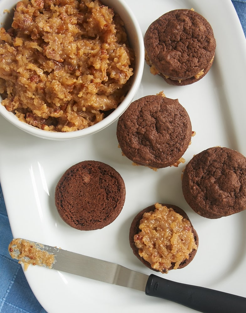to make these fantastic Chocolate Coconut Pecan Sandwich Cookies ...