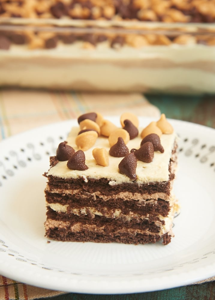 Chocolate Peanut-Butter Icebox Cake Recipe — Dishmaps