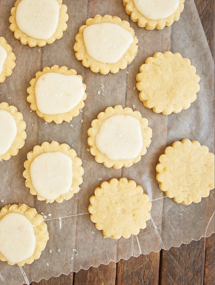 ... traditional shortbread in these delightful Peach Shortbread Cookies