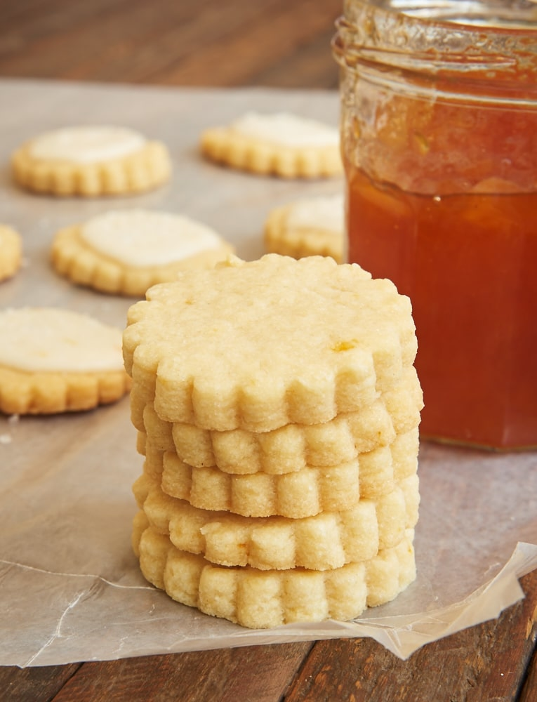 ... shortbread in these delightful Peach Shortbread Cookies. - Bake or