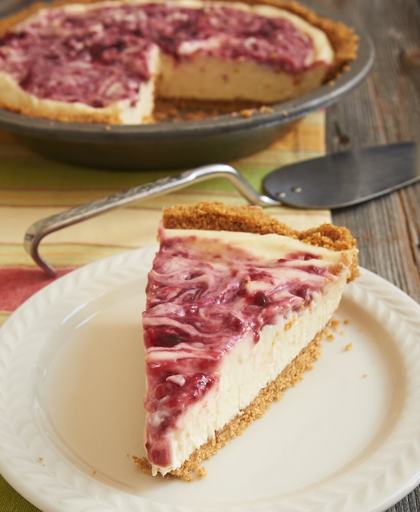 Add a raspberry twist to a classic dessert in this cool, creamy, sweet, tart, absolutely fantastic Raspberry Lemon Icebox Pie. A favorite no-bake dessert! - Bake or Break