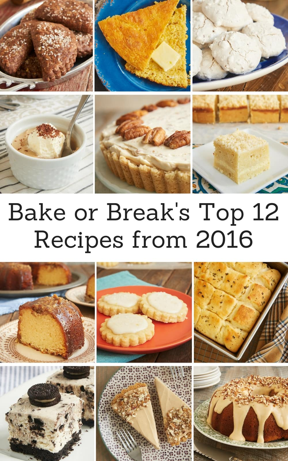 The most popular, most pinned, most saved, most liked recipes from 2016! - Bake or Break