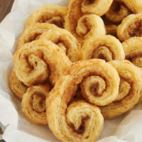 Chai Spice Palmiers are made with a simplified puff pastry and a delicious blend of spices. They're part pastry, part cookie, and completely fantastic! - Bake or Break