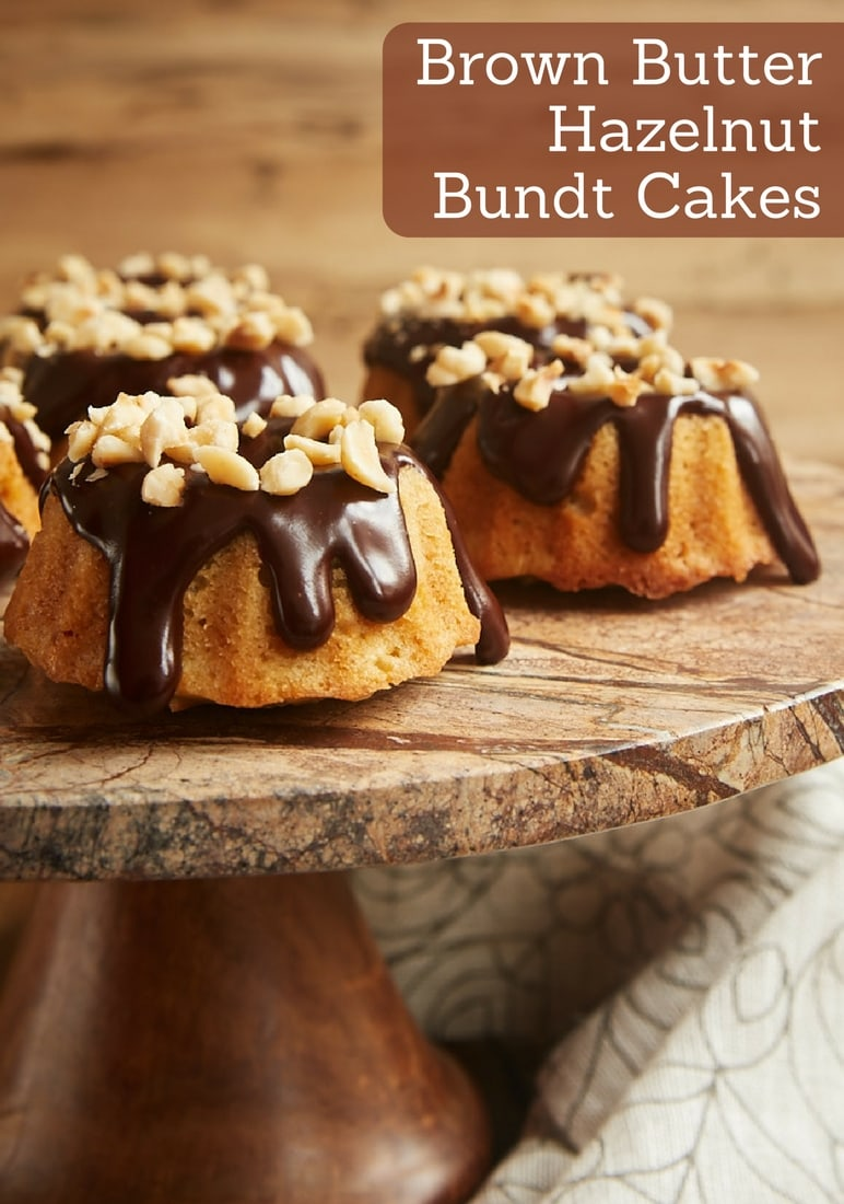 Brown Butter Hazelnut Bundt Cakes Bake Or Break