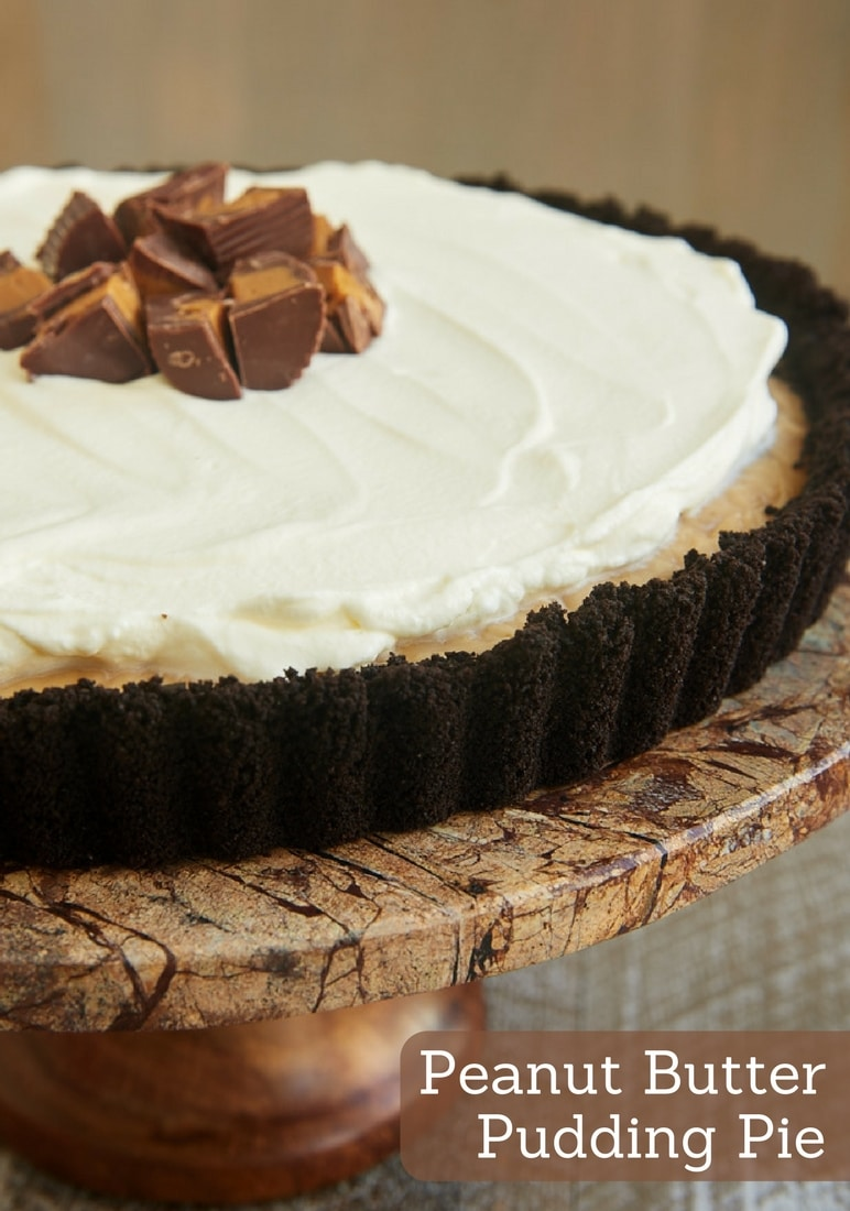 Chocolate Pudding Pie In A Samoas Cookie Crust Recipe — Dishmaps