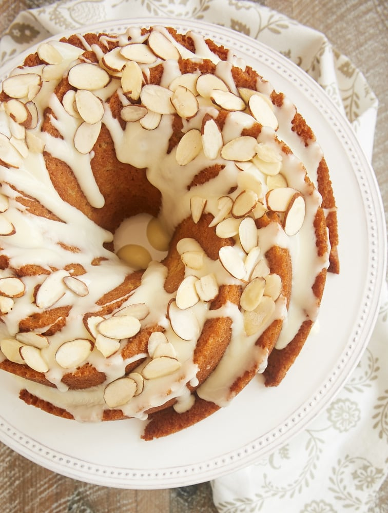Cake Recipe With Almond Liqueur