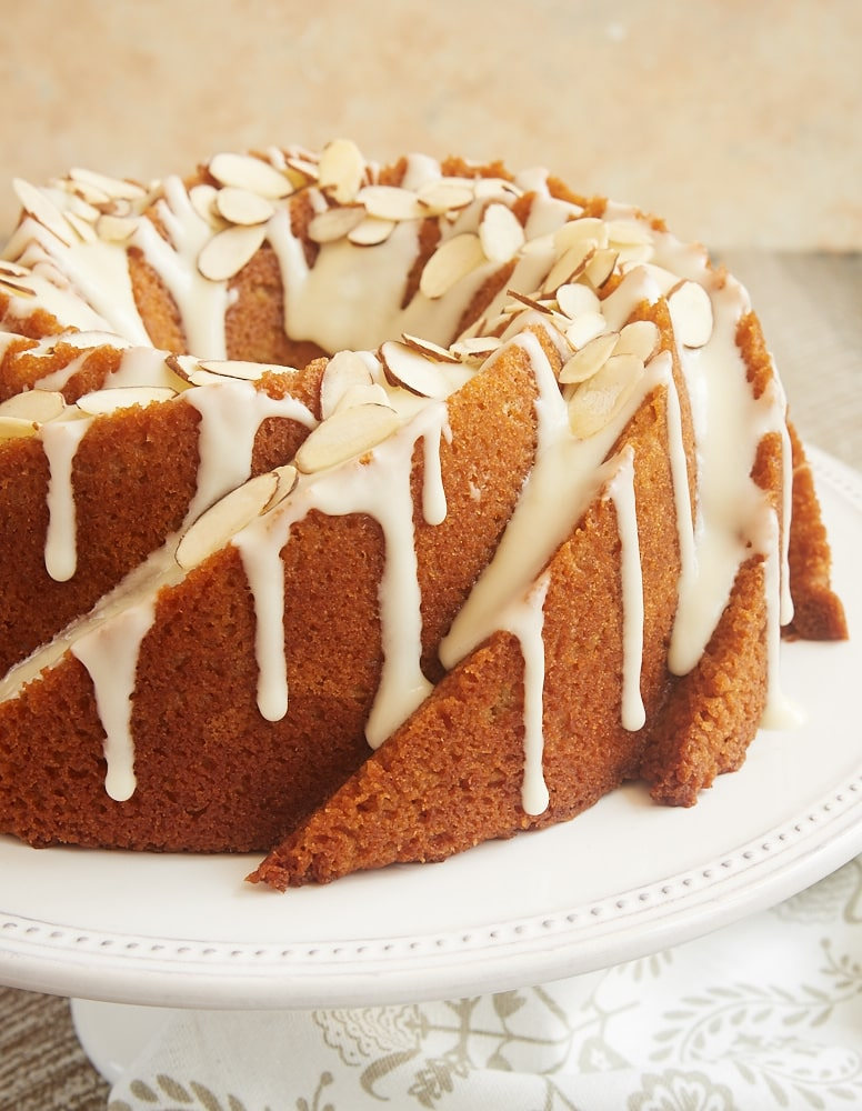 Amaretto Almond Bundt Cake Bake Or Break