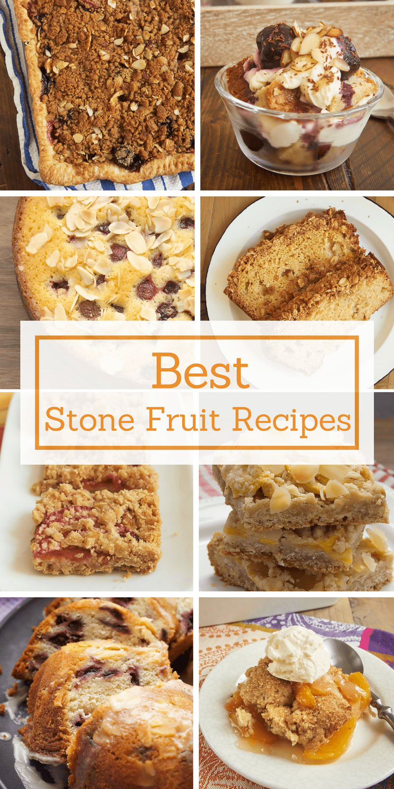 Bake up something sweet with summer peaches, plums, and cherries with these favorite stone fruit recipes from Bake or Break.