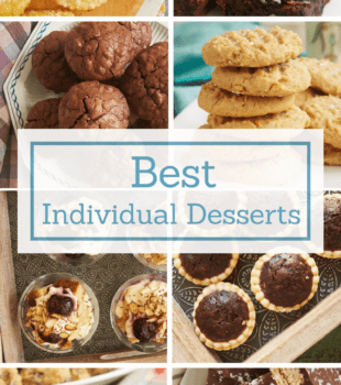 No serving, no mess! These individual desserts make serving dessert a breeze! - Bake or Break