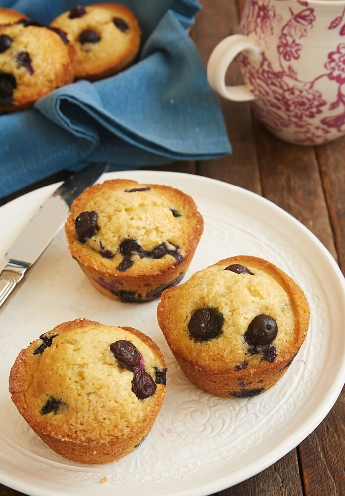 Quick and Easy Blueberry Muffins are one of my favorite sweet breakfast treats. These are a classic for good reason! - Bake or Break