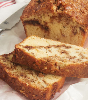 This simple Cinnamon Swirl Bread is perfect for breakfast, a coffee break, or even dessert! - Bake or Break