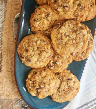 Chocolate Chip Date Nut Cookies are jam-packed with so much flavor! There is also plenty of crunch and a wonderful soft texture. - Bake or Break