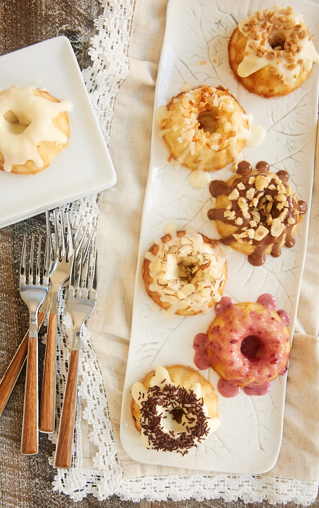 Mini Cream Cheese Pound Cakes are perfect little desserts for entertaining, gifting, or just because! With so many glaze options, you are sure to find one (or a few!) suit just about all occasions and tastes! - Bake or Break