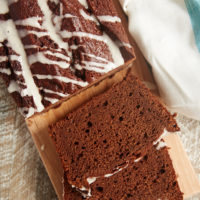 Chocolate Pound Cake with Vanilla Bean Glaze | Bake or Break