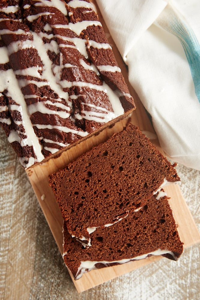 Chocolate Pound Cake with Vanilla Bean Glaze | Bake or Break