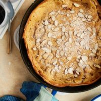 Cinnamon Almond Dutch Baby Pancake - Bake or Break