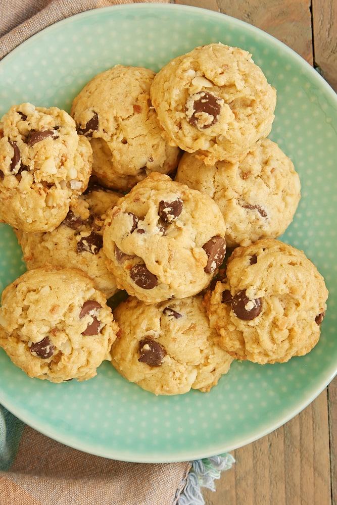Coconut Macadamia Chocolate Chip Cookies   Bake or Break