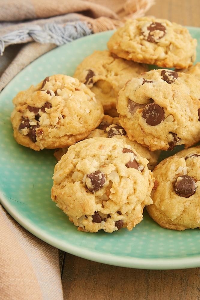 chocolate chip coconut macadamia nut cookies