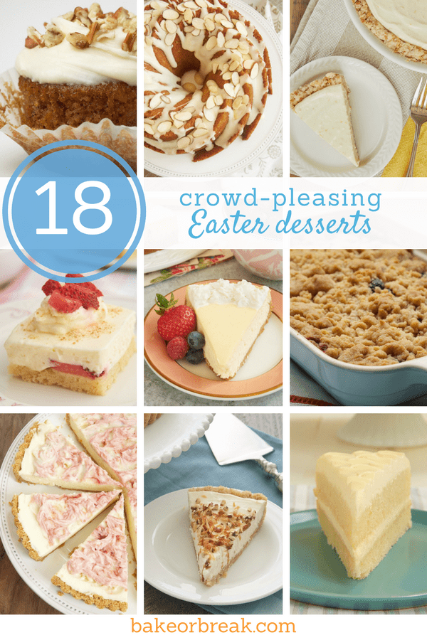 18 crowd pleasing easter desserts bake or break collection of easter dessert recipes forumfinder Image collections