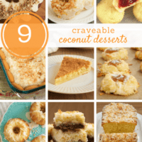 collection of coconut desserts from Bake or Break